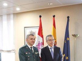 El teniente coronel Alfonso Martín Fernández, nuevo jefe de la Comandancia de Burgos