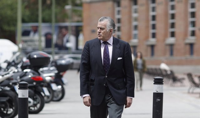 Luis Bárcenas acude a los juzgados de Plaza de Castilla