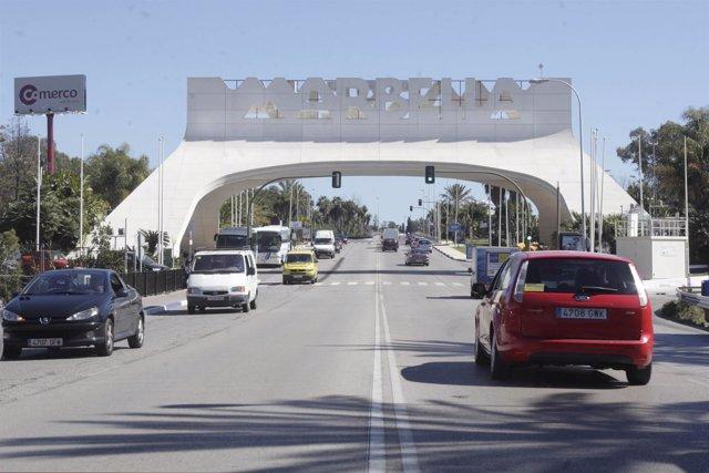 El arco de Marbella restaurado
