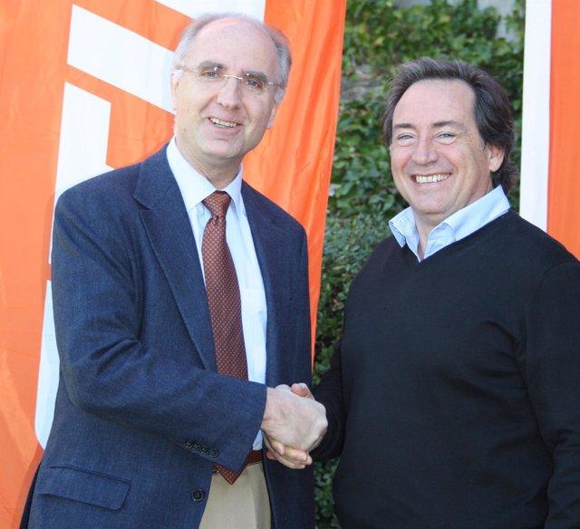 Iber y Sito Pons celebran el acuerdo