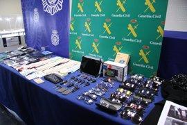 Desarticulada una organización criminal dedicada al hurto en domicilios en varias comunidades
