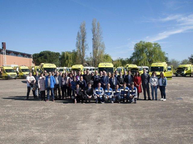 Ceniceros en renovación transporte sanitario