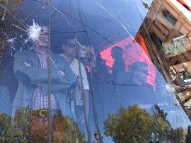 """Hazte Oír denunciará las agresiones al autobús y critica que los políticos les han puesto """"en el punto de mira"""""""