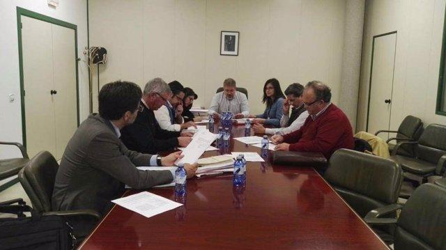 Reunión Comisión Central