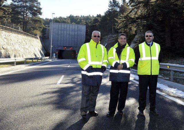 Celebración del 50 aniversario del túnel de Guadarrama