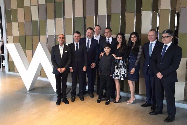 Acuerdo marca hotelera W Marbella Resort hotel lujo starwood