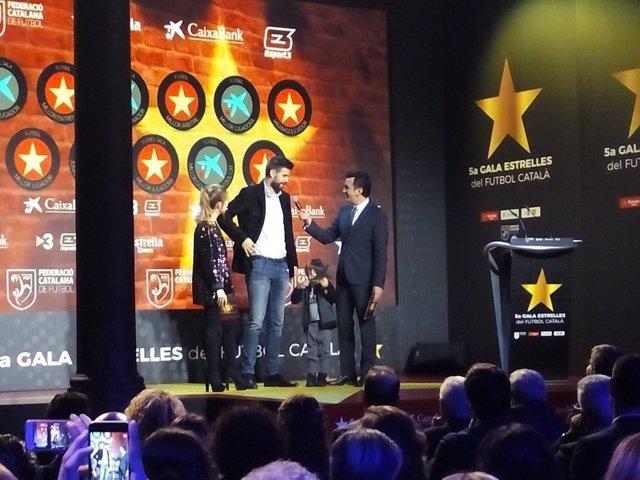 Gerard Piqué premio mejor jugador catalán