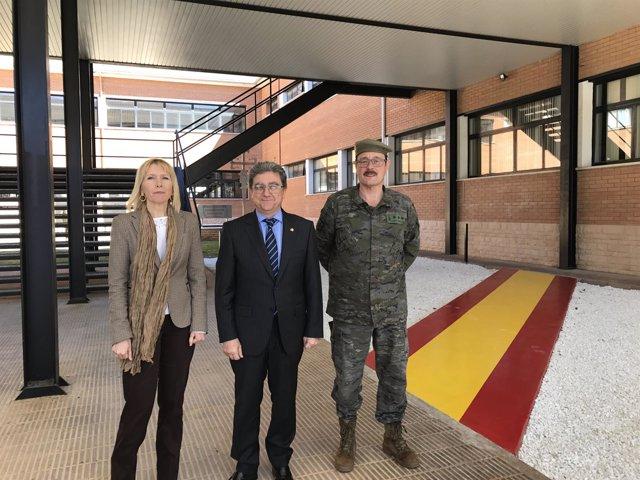 Inma Manso, Enric Millo y José Andrés Luján