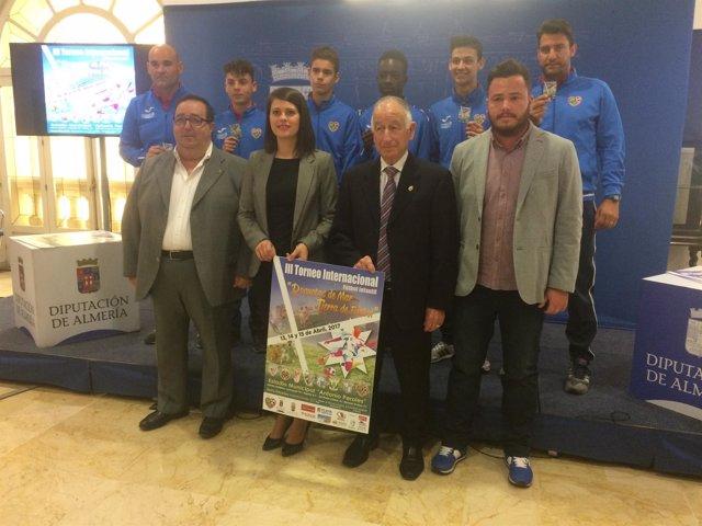 El Torneo Internacional de Fútbol de Roquetas de Mar reunirá a ocho clubes.