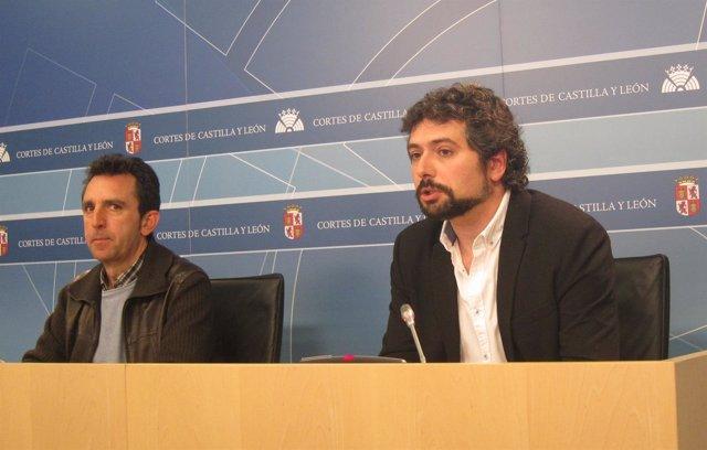 Valladolid. Rueda de Prensa de José Sarrión sobre las cajas