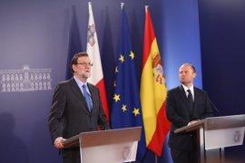 Rajoy respetará la decisión de Cs en Murcia pero defiende la presunción de inocencia de Pedro Antonio Sánchez