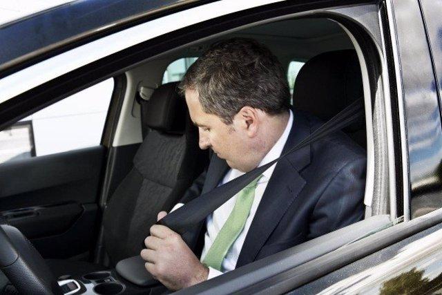 Recurso de conductor, cinturón de seguridad
