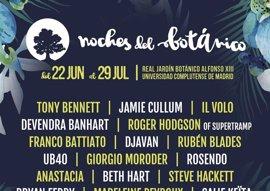 Tony Bennett, Gipsy Kings, Devendra Banhart y Franco Battiato pasarán por el festival Noches del Botánico
