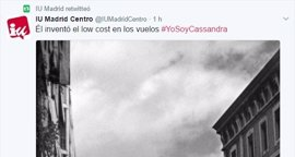 """IU Madrid publica en Twitter chistes sobre el atentado contra el """"facha"""" Carrero Blanco en apoyo a la tuitera condenada"""