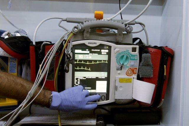 Electrocardiograma de SAMU-061