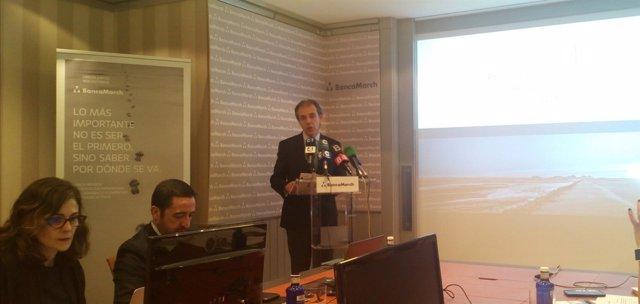 El consejero delegado de Banca March, José Luis Acea