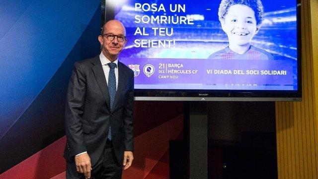 Jordi Cardoner, vicepresidente del FC Barcelona