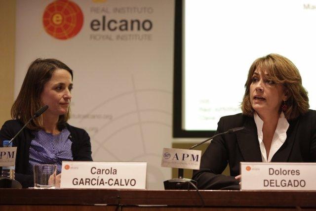 La fiscal Dolores Delgado interviene en unas jornadas del Real Instituto Elcano