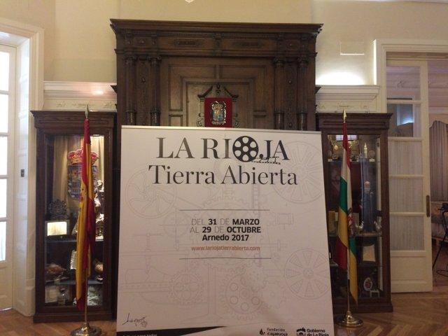 Cartel La Rioja Tierra Abierta