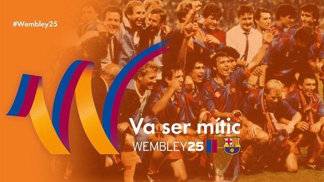 """El Barça prepara un homenaje """"especial"""" a Wembley 92 con """"algún tipo de partido"""""""