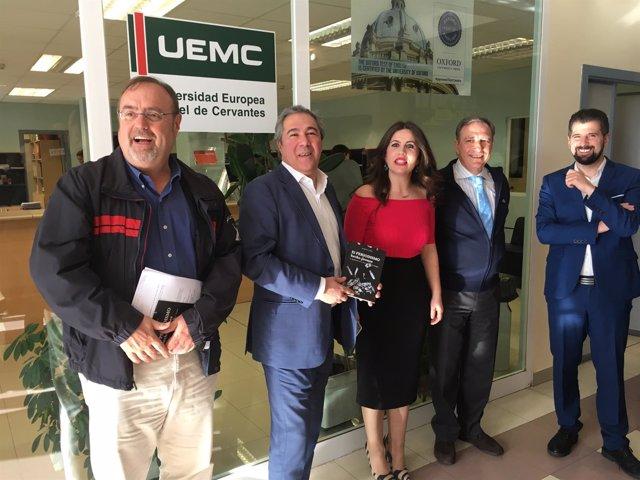 Valladolid.- Un momento de la presentación en la UEMC
