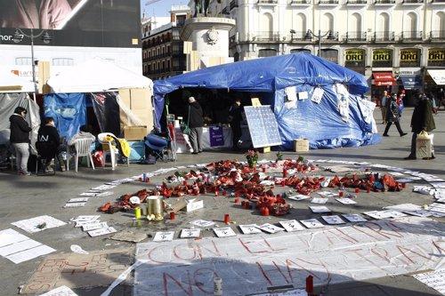Muejeres en huelga de hambre por un pacto de estado sobre violencia de género