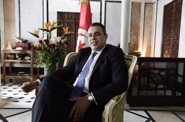 El primer ministro de Túnez, Mehdi Jomaa