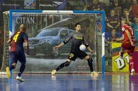 Paco Sedano, baja ante Movistar Inter por una lesión muscular