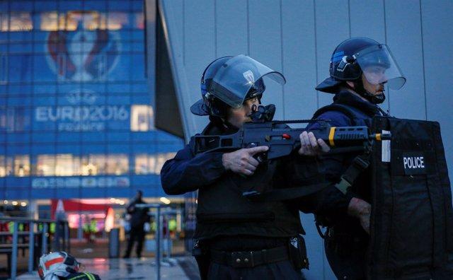 La Policía de Francia se prepara para la Eurocopa