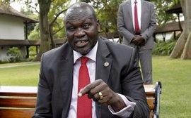 """Machar expresa su """"decepción"""" con la IGAD y pide aplicar en su totalidad el acuerdo de paz de 2015"""