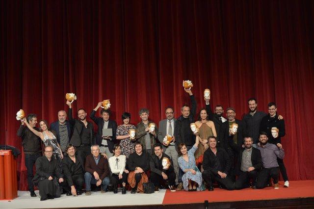 Foto de Familia de los Premios María Casares 2017