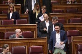 Diputados de PDeCAT abandonan hasta el miércoles su actividad en el Congreso en protesta por la expulsión de Homs