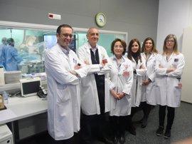 El CHN prueba la efectividad del tratamiento del infarto agudo con células madre cardíacas