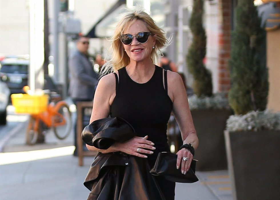 Melanie Griffith se borra el tatuaje de su ex./ Cordon Press