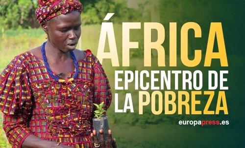 Mujer guineana, pobreza