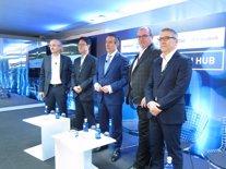 Christophe Conegero, Victor Kim, Juan Alcaraz, Frank Young i Bertrand Sava