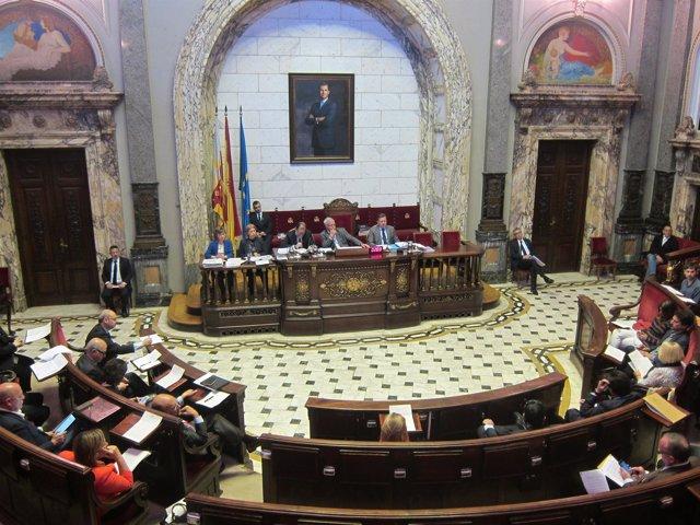 Debate sobre las  conclusiones de la Comisión Taula en el pleno municipal