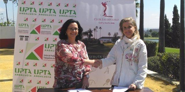 UPTA-A y Cluz Zaudín.