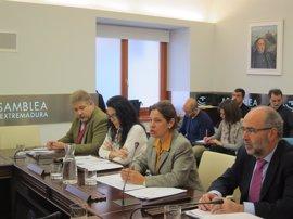 La Comisión de Control y Seguimiento de la Ejecución Presupuestaria inicia sus trabajos en la Asamblea de Extremadura