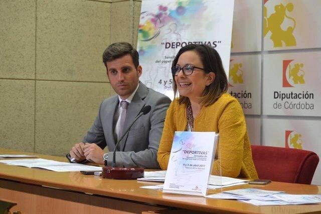 Guijarro y Torralbo durante la presentación de las jornadas