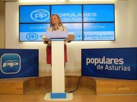 """Mercedes Fernández pide a los partidos que den """"a la tecla del sí"""" en el Congreso para aprobar los presupuestos"""