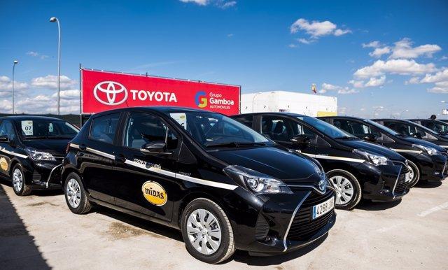 Flota de Toyota Yaris para Midas