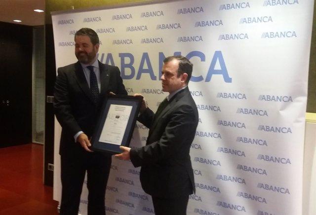 Abanca obtiene certificado Aenor de excelencia en banca a particulares