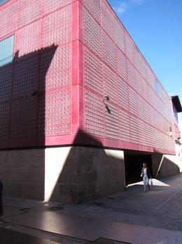 Imagen del Centro de la Cultura del Rioja
