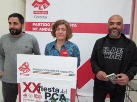 El PCA dedicará su XX Fiesta a la libertad de expresión, tras la condena a la tuitera Cassandra