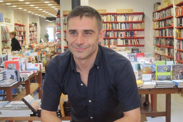 El escritor Jordi Amor (Premi Documenta 2016)