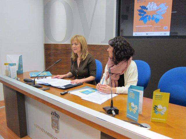 Marisa Ponga (izquierda) y Arancha Fernández.