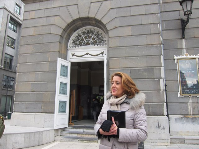La concejala del PP en el Ayuntamiento de Oviedo María Ablanedo