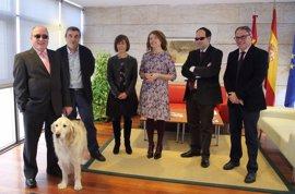 La ley de discapacitados acompañadas por perros en C-LM podría estar en 2018