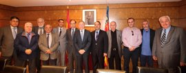 """La comunidad árabe-musulmana y Delegación de Gobierno apuestan por la unidad """"contra la barbarie"""" terrorista"""